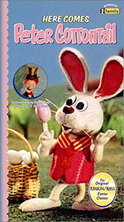 Here Comes Peter Cottontail VHS 2004