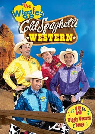 The Wiggles: Cold Spaghetti Western DVD 2004