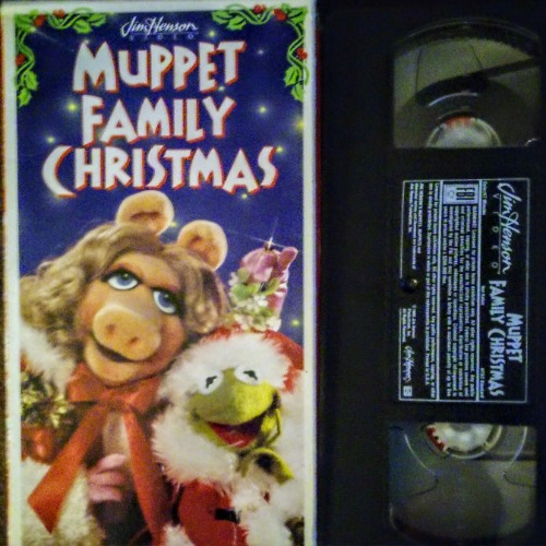 A Muppet Family Christmas VHS 1995