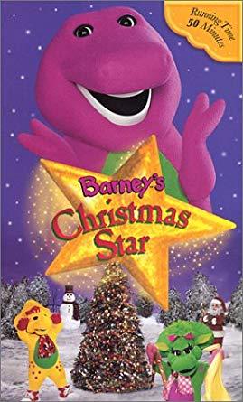 Barney's Christmas Star VHS 2004