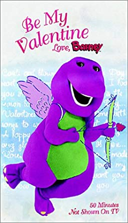 Be My Valentine, Love Barney VHS 2000