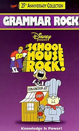 Schoolhouse Rock: Grammar Rock VHS 2004