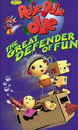 Rolie Polie Olie: The Great Defender of Fun VHS 2002