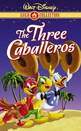 The Three Caballeros VHS 2000