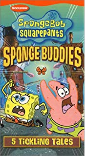 SpongeBob SquarePants: Sponge Buddies VHS 2002