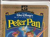 Peter Pan VHS 1998