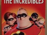 The Incredibles VHS 2005