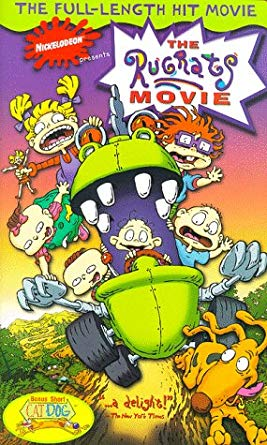 The Rugrats Movie VHS 1999