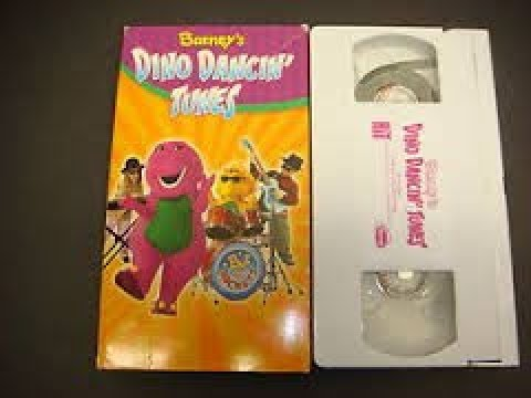 Barney's Dino Dancing Tunes VHS 2004