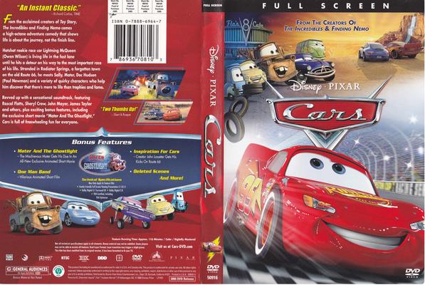 Cars DVD 2006