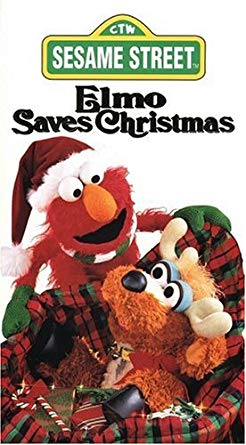 Elmo Saves Christmas VHS (2000 Reprint)