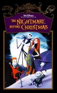 Walt Disney Masterpiece's The Nightmare Before Christmas VHS 1994