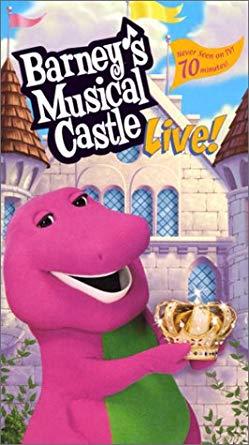 Barney's Musical Castle VHS 2004