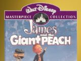 James and the Giant Peach VHS 1996