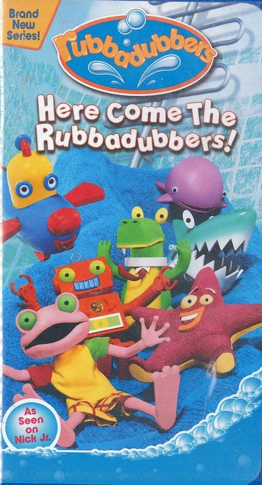 Rubbadubbers: Here Comes the Rubbadubbers VHS 2003 (2004 Reprint)