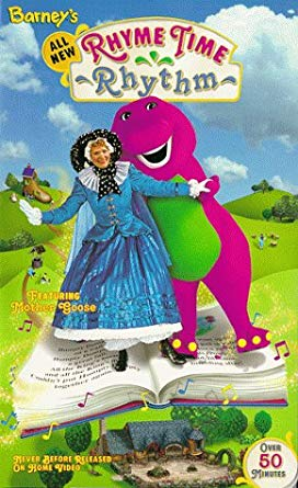 Barney's Rhyme Time Rhythm VHS 2000