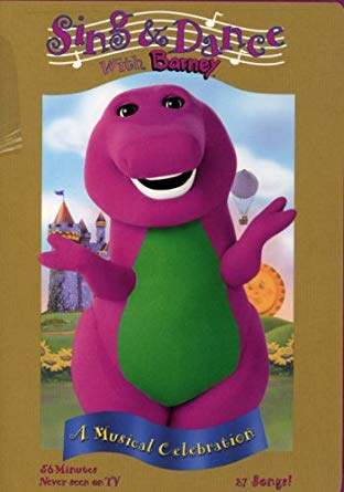 Sing and Dance with Barney 2004 DVD