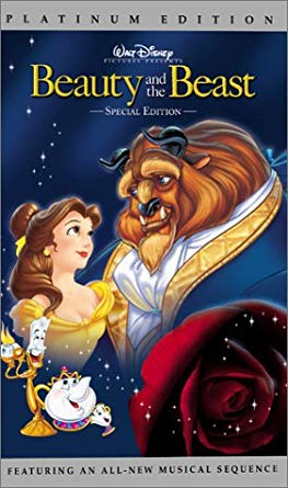 Beauty and the Beast VHS 2002
