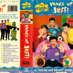 The Wiggles: Wake Up Jeff! VHS 2000