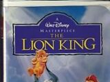 The Lion King VHS 1995 (Version 1)