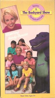 Barney: The Backyard Show VHS 1988 | Vhs and DVD Credits ...