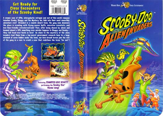 Scooby-Doo and the Alien Invaders VHS 2000