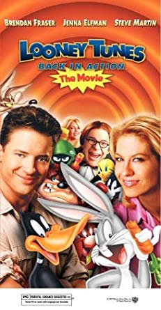 Looney Tunes: Back in Action VHS 2004