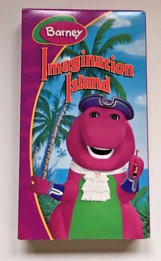 Barney's Imagination Island VHS 2004
