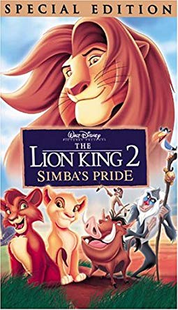 The Lion King II: Simba's Pride VHS 2004