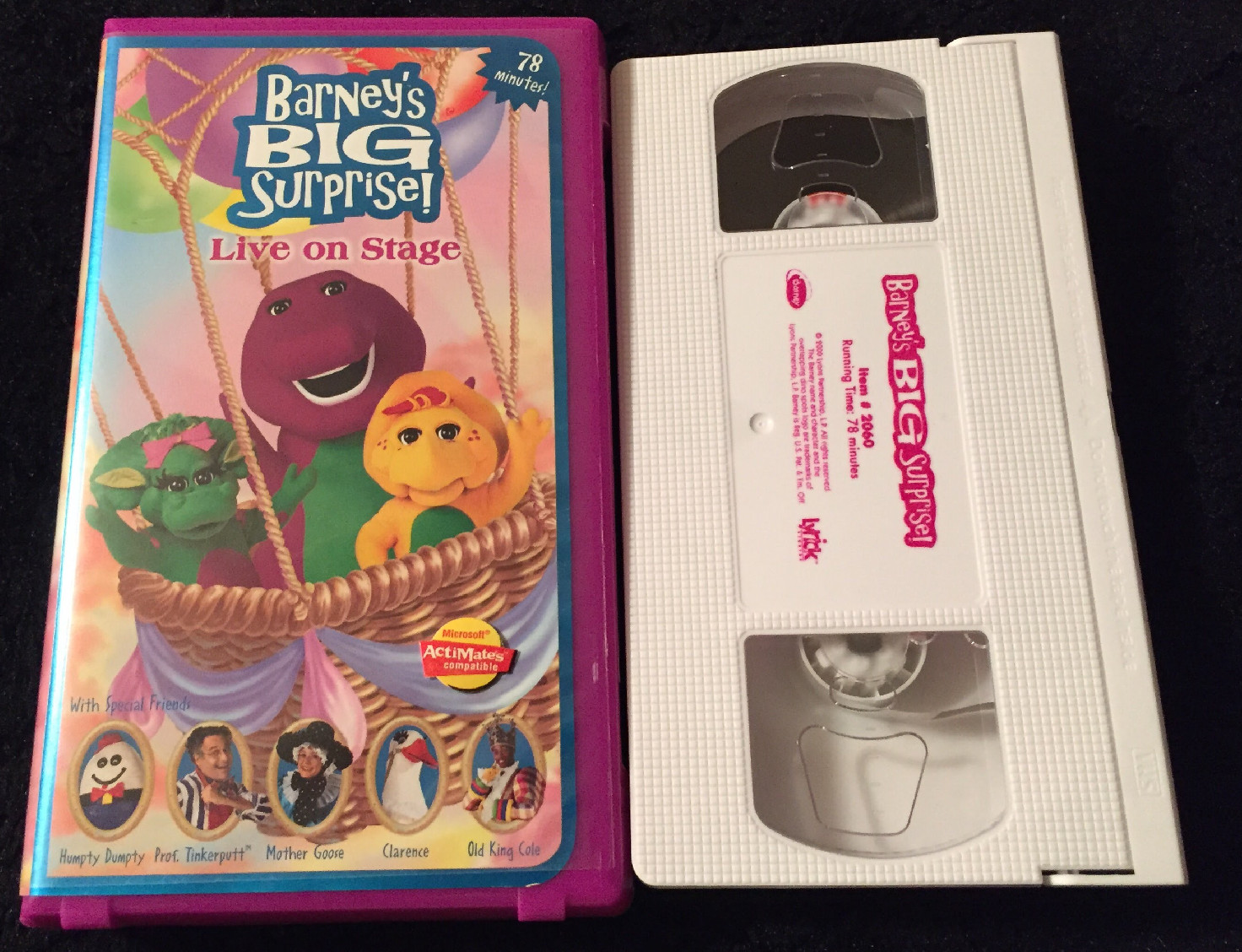 Barney's Big Surprise VHS 1998 (2000 Reprint)