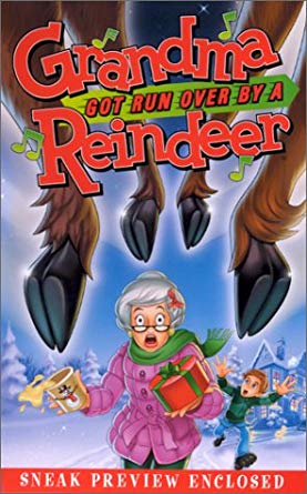 Grandma Got Run Over by a Reindeer VHS 2000