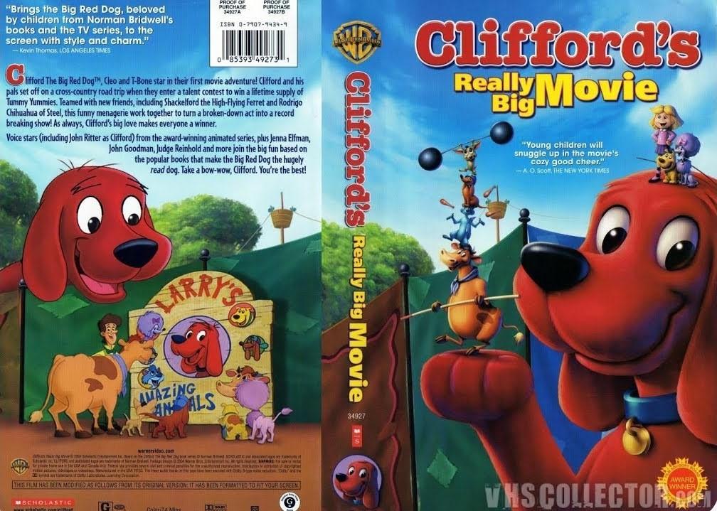 Clifford's Really Big Movie VHS 2004