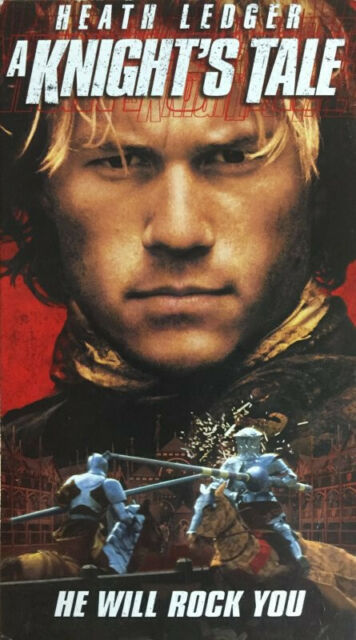 A Knight's Tale VHS 2001 (Version 1)