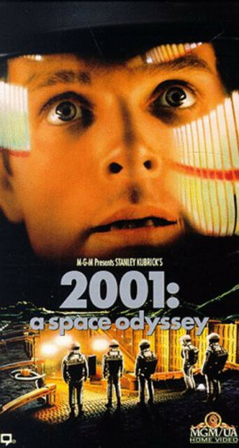 2001: A Space Odyssey VHS 1993