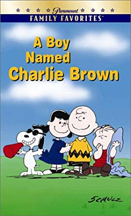 A Boy Named Charlie Brown VHS 2001