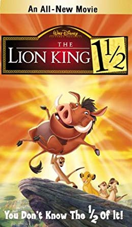 The Lion King 1 1/2: Special Edition VHS 2004
