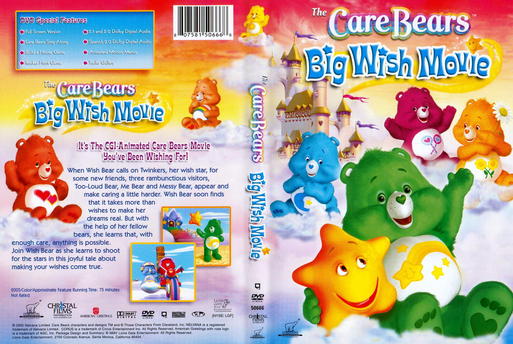 The Care Bears: Big Wish Movie DVD 2005