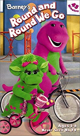 Barney's Round and Round We Go VHS 2004