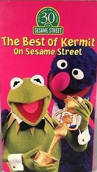 The Best of Kermit on Sesame Street VHS 1998