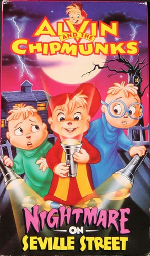 Alvin and the Chipmunks: Nightmare on Seville Street VHS 1993