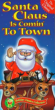 Santa Claus is Comin' to Town VHS 2000