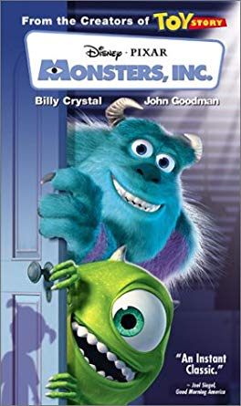 Monsters, Inc. VHS 2002