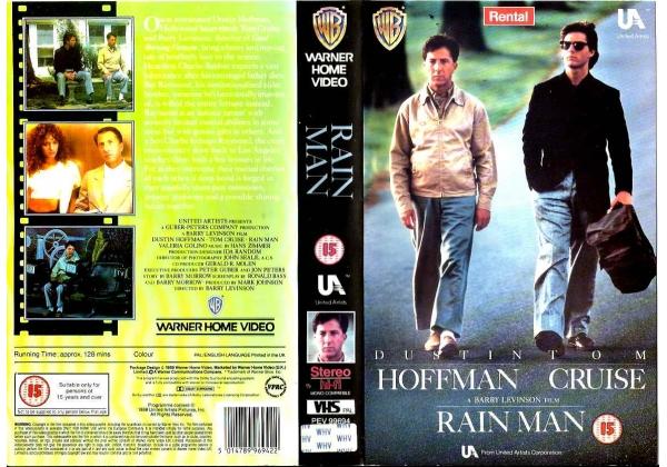 Opening Closing To Rain Man 1988 1989 Vhs Uk Rental Vhs Openings Wiki Fandom