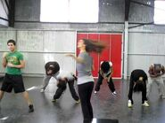 """Blast From The Past- 16 year old Victoria Justice Rehearses """"Make It Shine"""" Dance"""