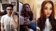 Ariana Grande's Sleepover Party With Liz Gillies & Matt Bennett
