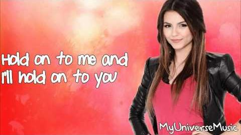 Victoria Justice - All I Want is Everything (Lyrics Video)