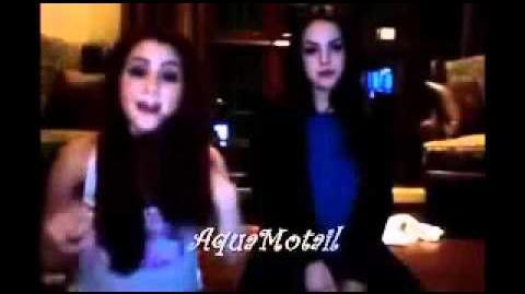 Ariana Grande Liz Gillies singing random songs, part 1