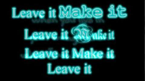 Leave It All To Shine - iCarly - Victorious - Lyrics on Screen Full song HD