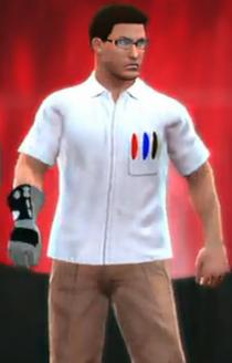AVGN depicted using WWE 2K14