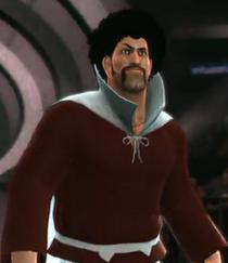 Mr. Satan depicted using WWE '13